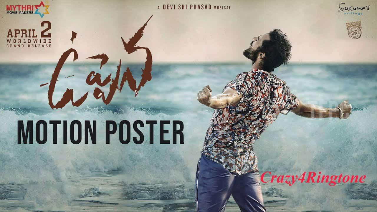 Uppena Telugu movie Ringtones Download   Crazy15Ringtone